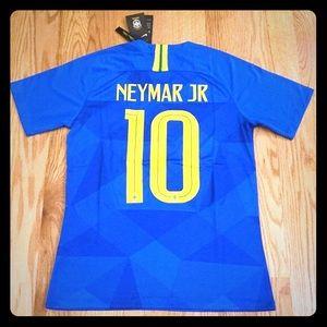 Nike Brazil Neymar Jr away jersey